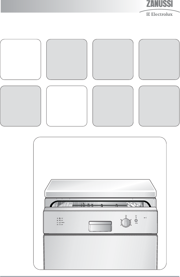 zanussi dishwasher zdf 131 user guide manualsonline com rh laundry manualsonline com Electrolux Product Manuals Dishwasher Electrolux Ei24id81ss