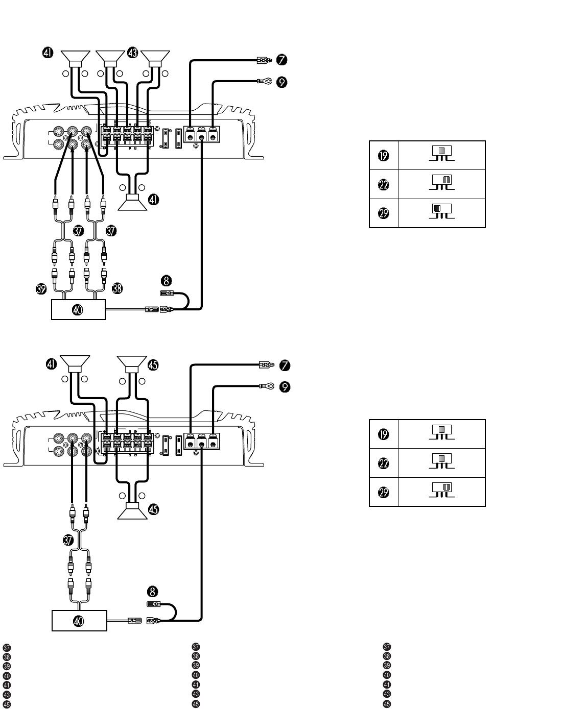 Alpine Mrv F307 Amp Wiring Diagram Free Download Mono Car Images Gallery