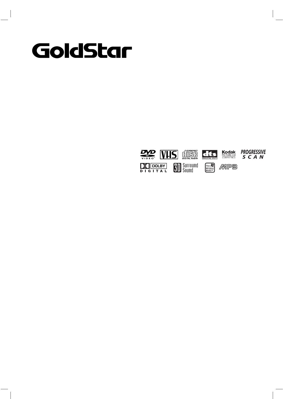 goldstar dvd player gbv441 user guide manualsonline com rh tv manualsonline com goldstar dvd vcr combo manual goldstar tv vcr combo manual