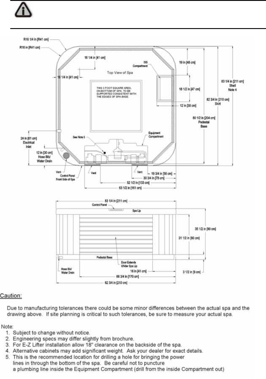 Page 16 of dimension one spas hot tub hot tub user guide - Jacuzzi 2 places dimensions ...