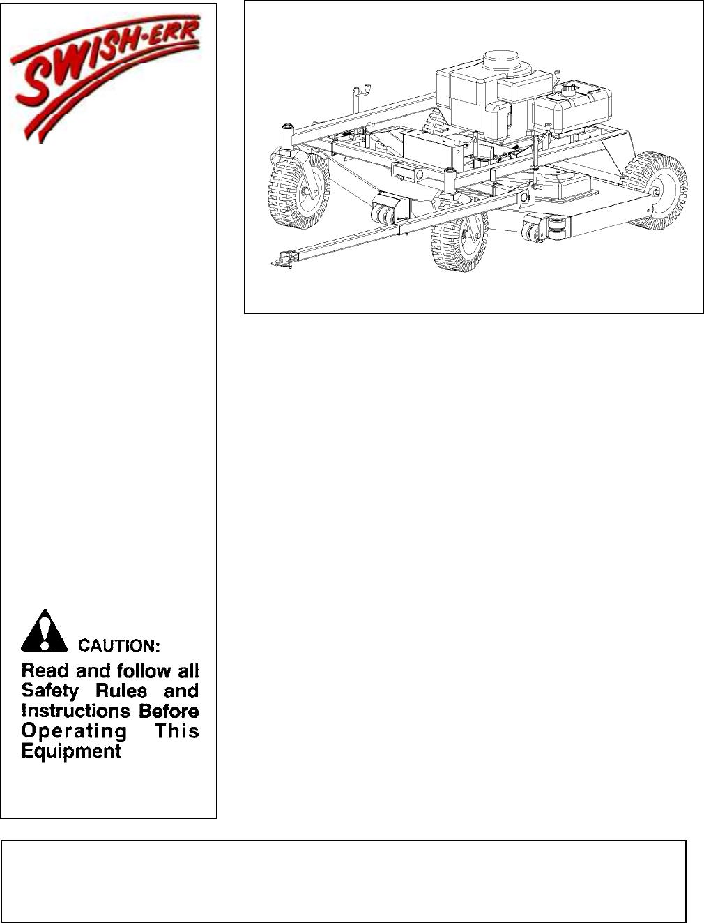 swisher lawn mower t1260  t1360 user guide manualsonline com swisher trail mower manual swisher 44 trail mower manual