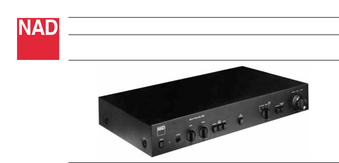 nad stereo amplifier 1130 user guide manualsonline com rh audio manualsonline com Nad Preamplifier Digital 118 Phase Linear Preamps