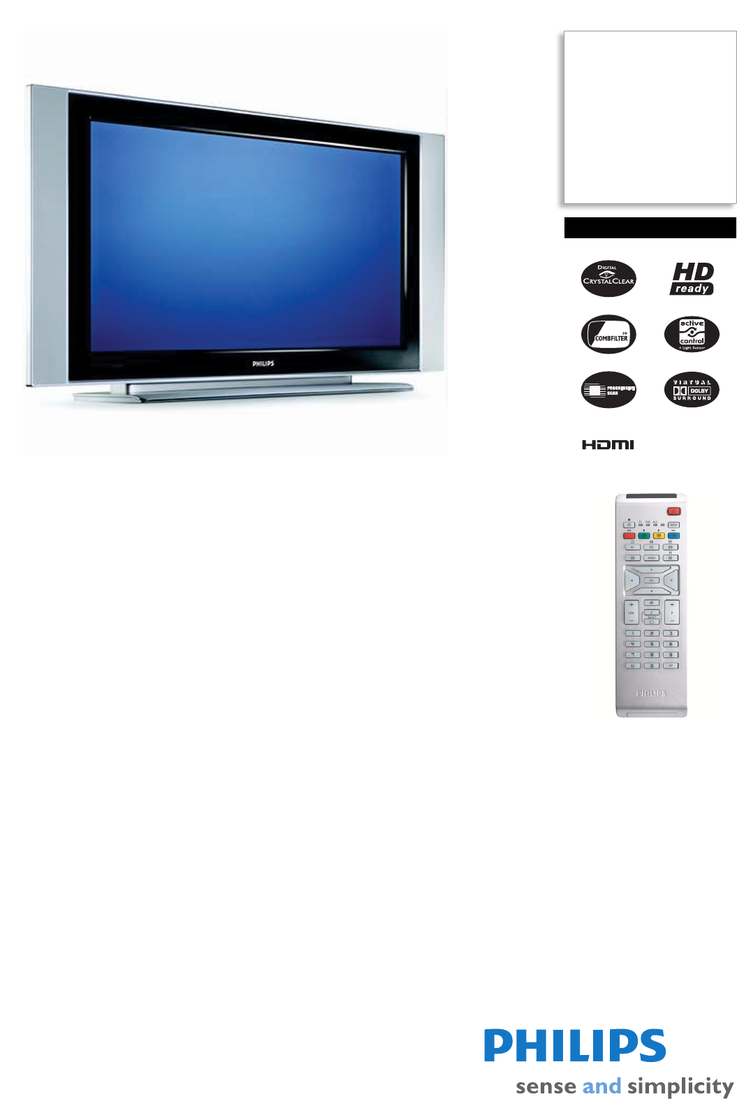 philips flat panel television 26pf5320 98 user guide manualsonline com rh tv manualsonline com Philips Universal Remote User Manual Philips TV Manual