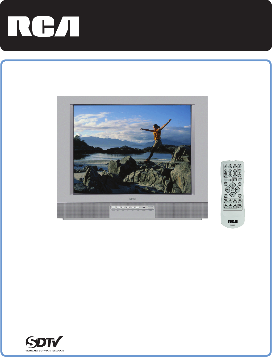 rca crt television 27v414t user guide manualsonline com rh tv manualsonline com rca tv user guide sld50a45rq rca led tv user manual