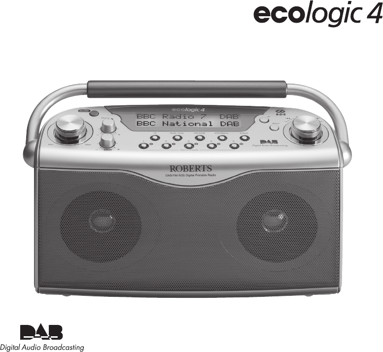 roberts radio radio ecologic 4 user guide manualsonline com rh audio manualsonline com roberts radio eco4bt ecologic 4 manual Ecologic Fashion