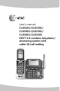 Cordless Telephone CL83201