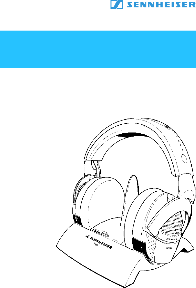 sennheiser headphones instruction manual
