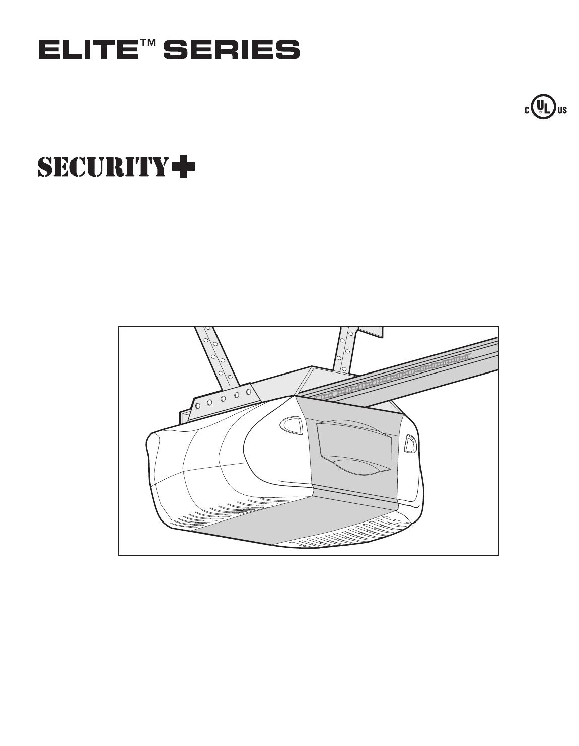 chamberlain 3 4 hp garage door opener manual