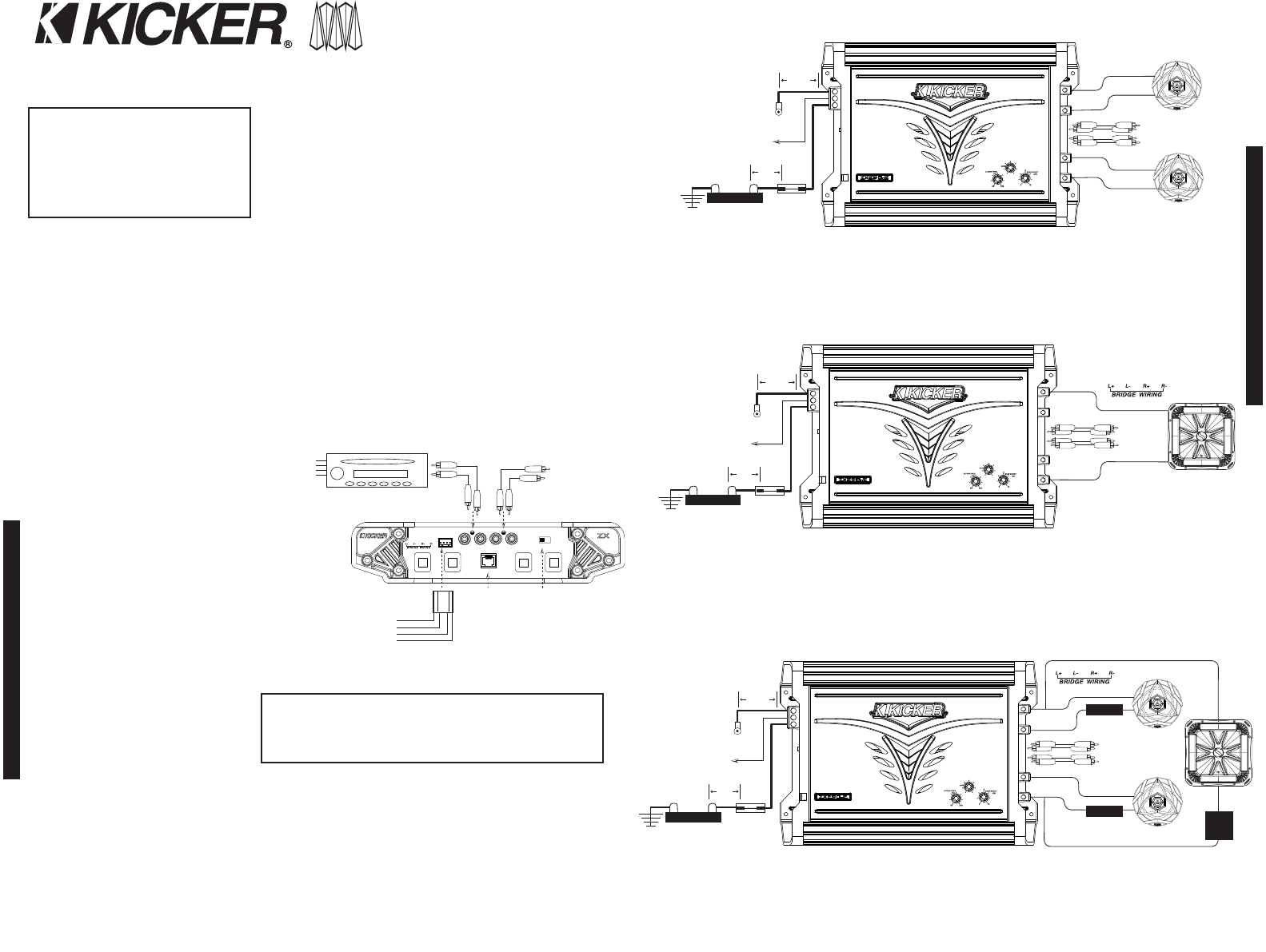 a81eae5c fe97 44a6 8b91 25020d55c55a bg2 page 2 of kicker stereo amplifier zx850 2 user guide on kicker cx1200 1 wiring diagram