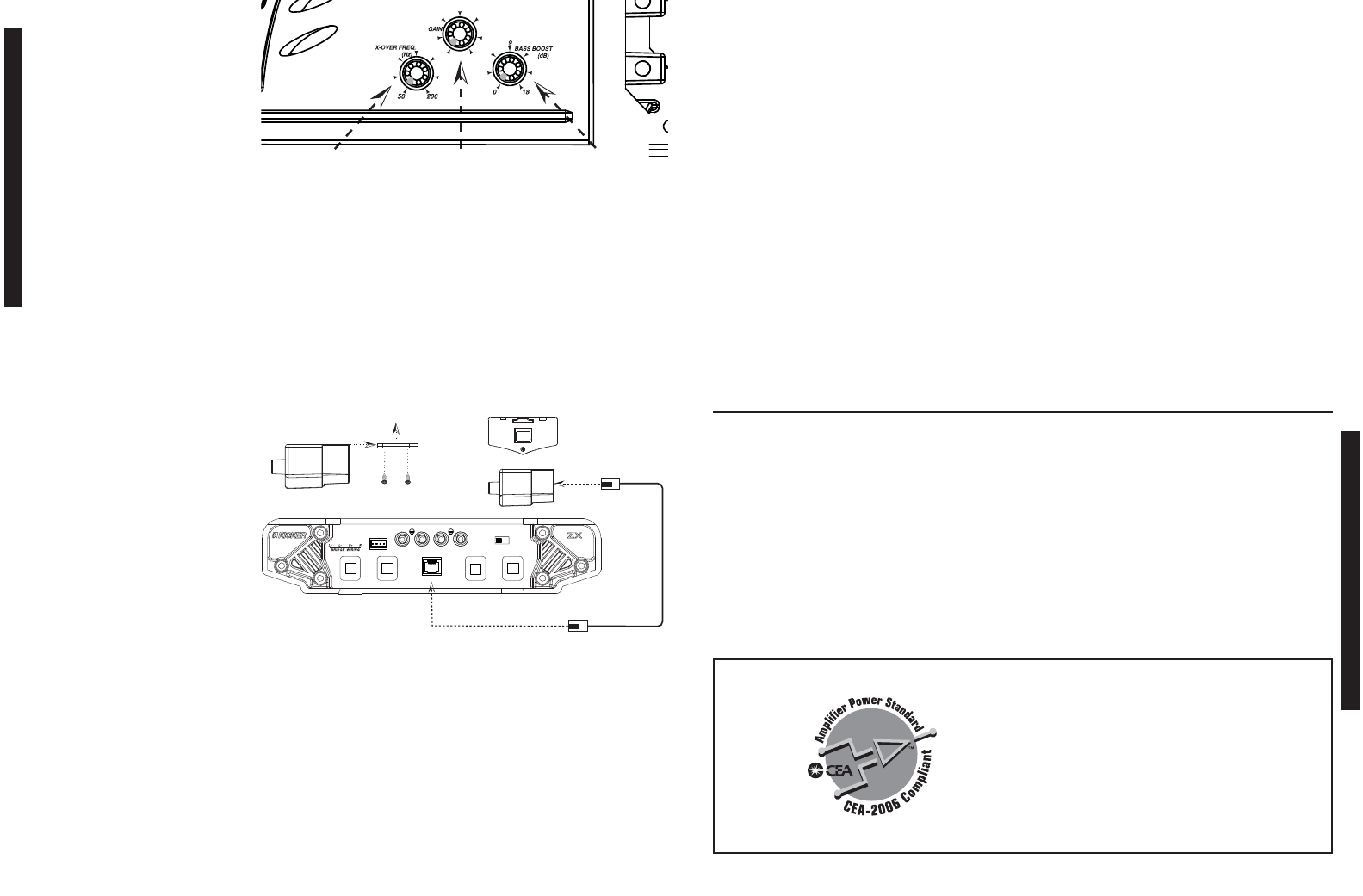 Kicker Zx850 2 Wiring Diagram Trusted Diagrams Autotek 1 Ohm Page 3 Of Stereo Amplifier User Guide Manualsonline Com Rh Audio Four Cvr Subwoofer Sub