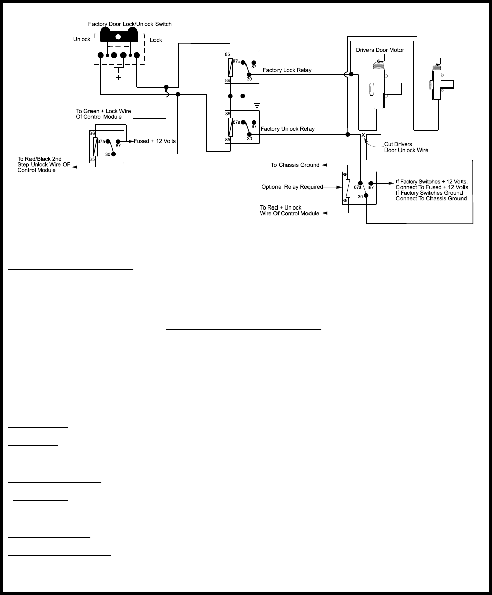 Page 16 Of Smc Networks Remote Starter Pro 9675ft4 User Guide Alternating Relay Switch Circuit Schematic Diagram Note Resistive Circuits As Well 4 Wire Polarity Reversal And 5 12 Volt