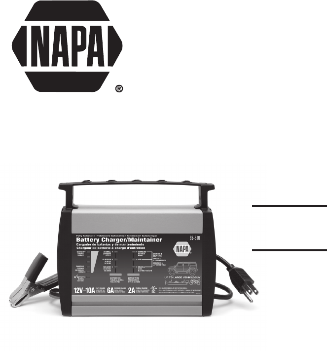 napa battery charger wiring diagram napa image napa essentials battery charger 85 510 user guide manualsonline com on napa battery charger wiring diagram