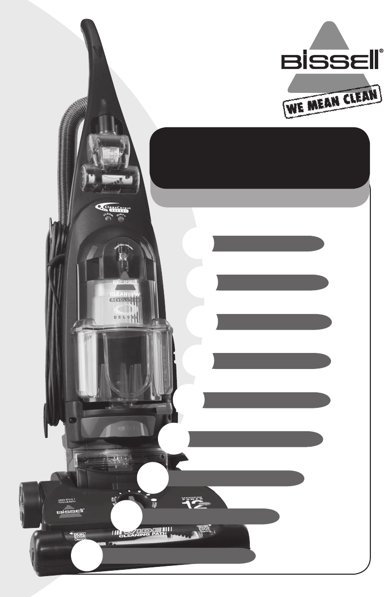 bissell vacuum cleaner 6591 user guide manualsonline com rh caraudio manualsonline com Bissell Lift Off Deep Cleaner Manual Bissell User Manual