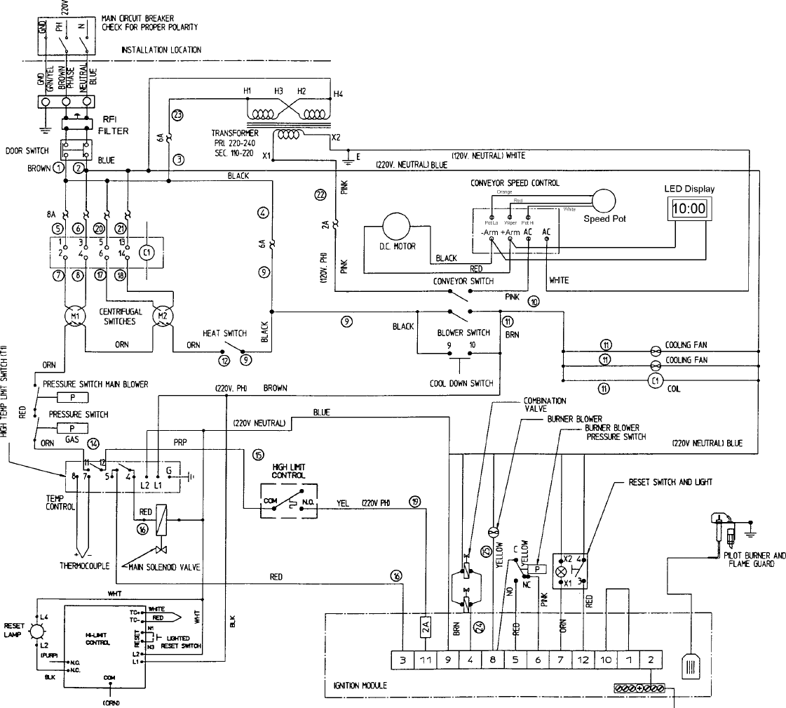 a92d78f4 8278 4e59 b533 8d34f444e4c9 bg4d page 77 of middleby cooking systems group oven ps360 ps360wb user middleby marshall ps360 wiring diagram at bayanpartner.co