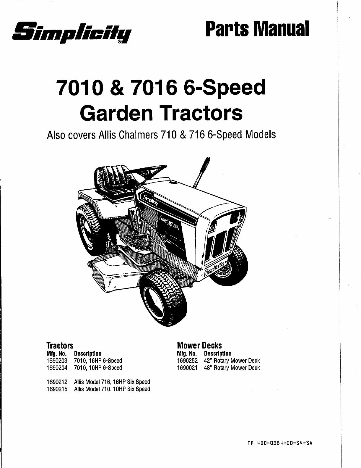 7016 simplicity tractor wiring diagram simplicity tractor wiring diagram 1692593 wiring diagrams