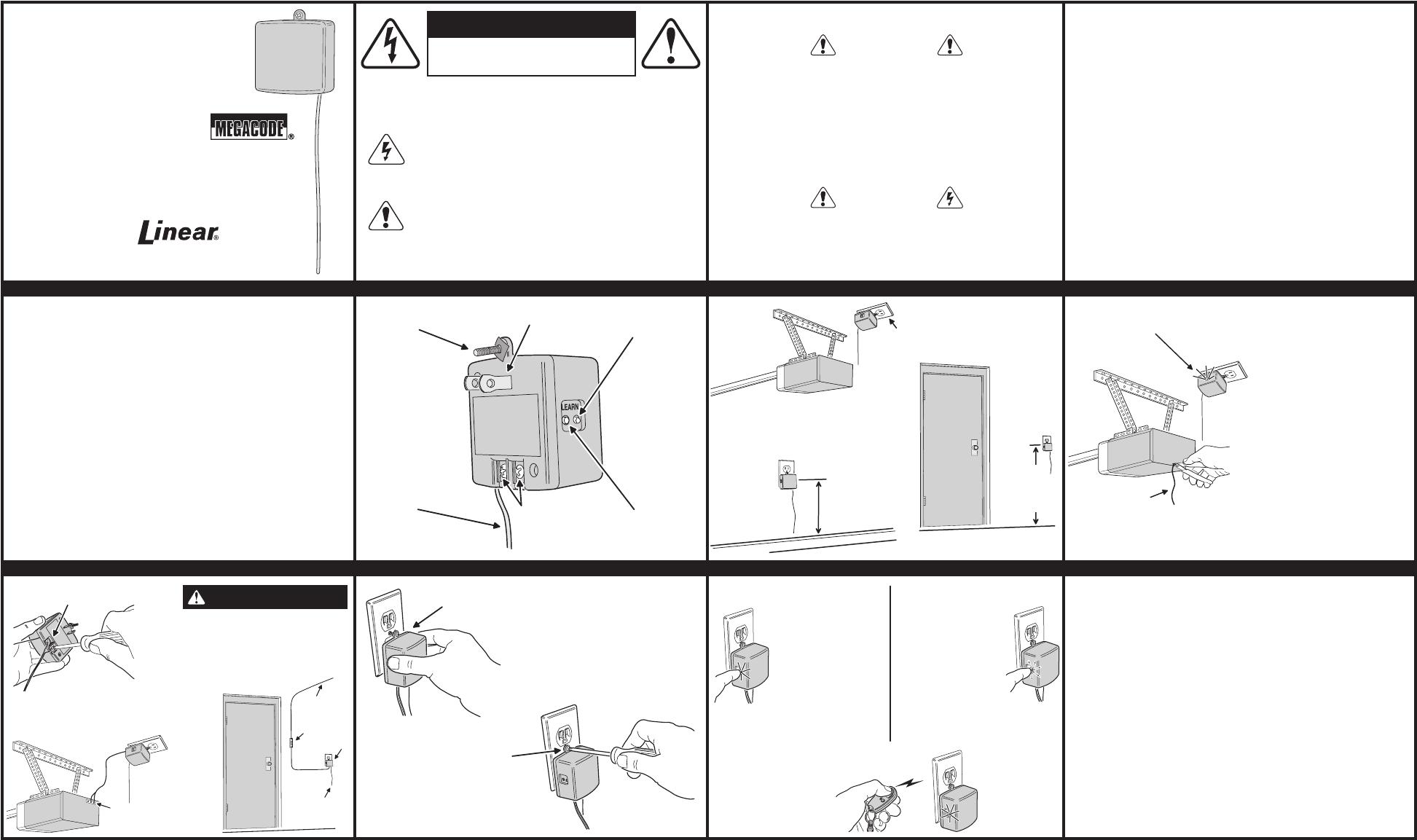 Garage Door Opener Antenna Extension Manual Guide