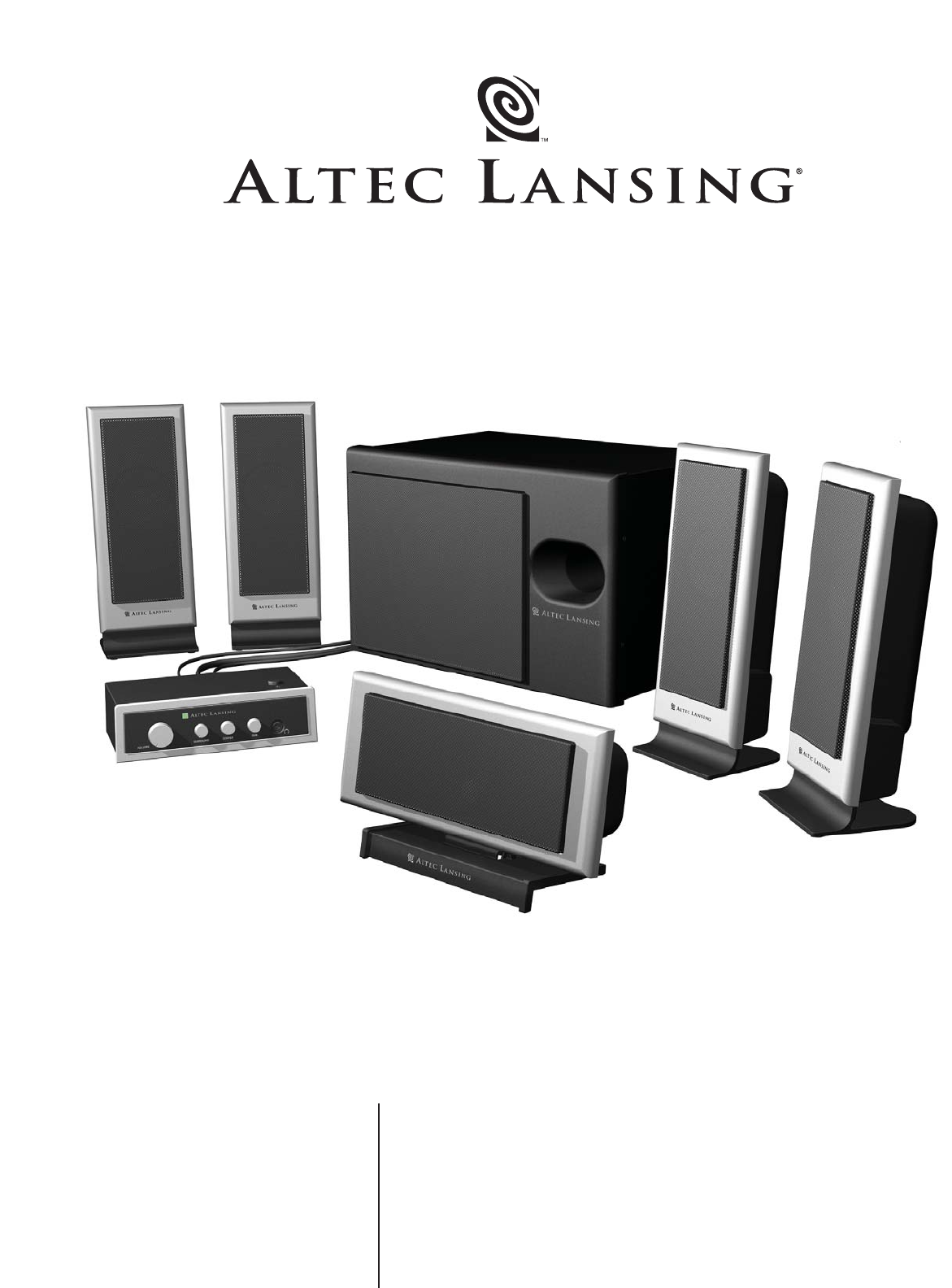 altec lansing speaker vs3151 user guide manualsonline com rh audio manualsonline com Altec Lansing Subwoofer Manual Altec Lansing Subwoofer Manual