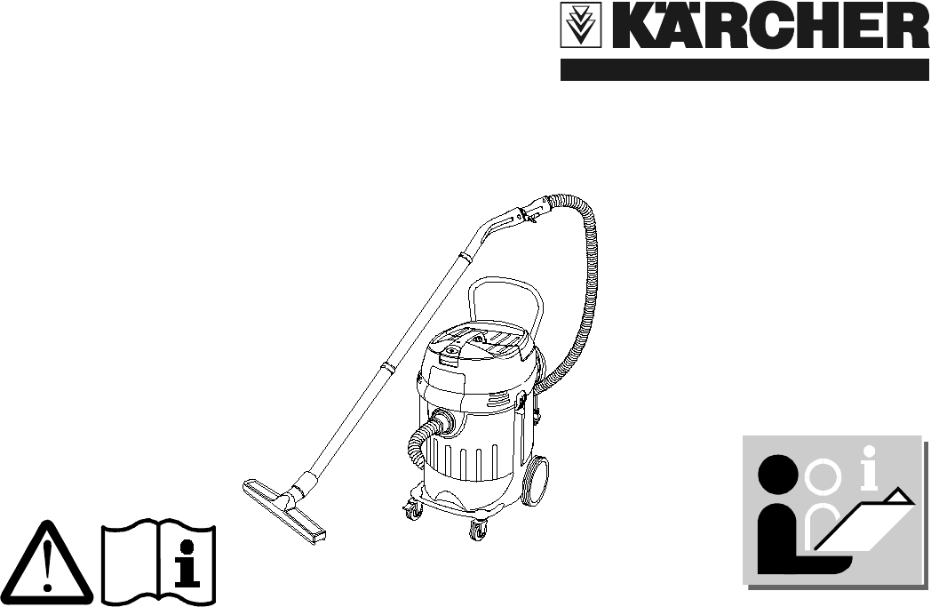 Karcher Vacuum Cleaner Nt 652 Eco User Guide Manualsonline