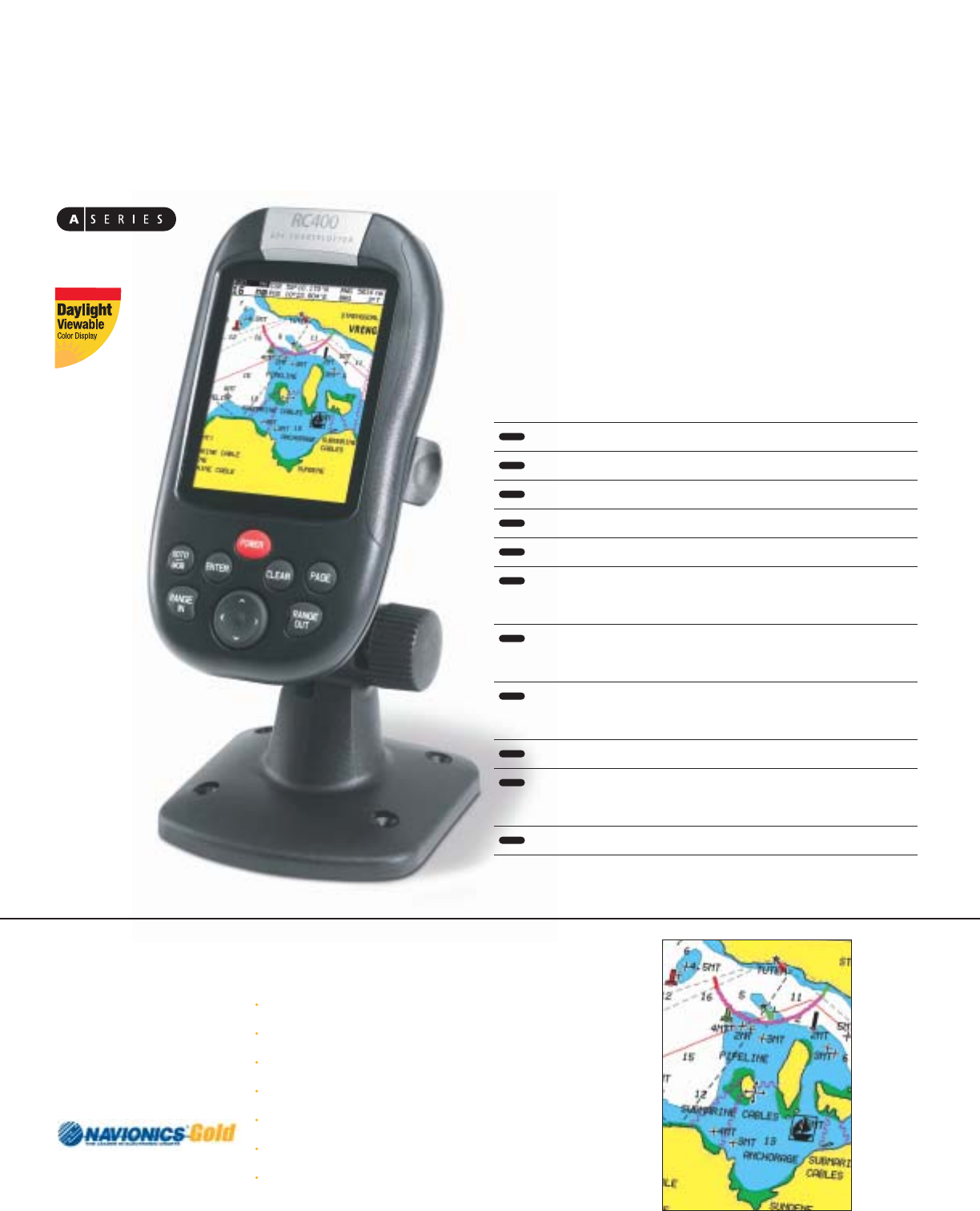 page 2 of raymarine marine gps system rc400 user guide rh marine manualsonline com Car ManualsOnline Product Factory Service Manuals