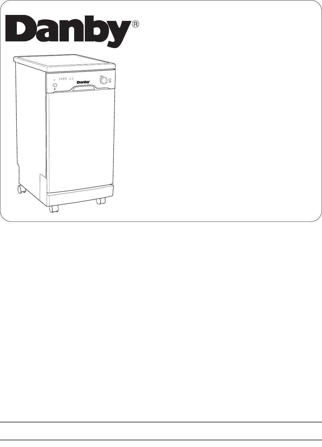 Danby Dishwasher DDW1899WP User Guide | ManualsOnline.com