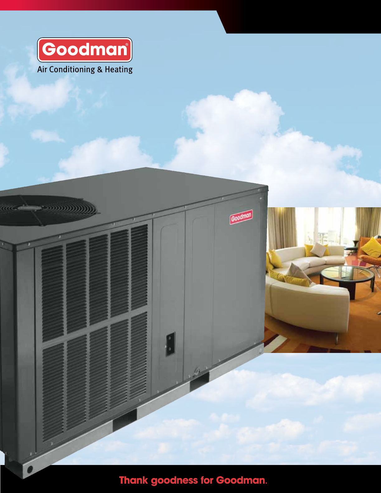Goodman Mfg Air Conditioner Conditioning And Heat Pump Packaged Wiring Diagram For Package Ac Unit Units