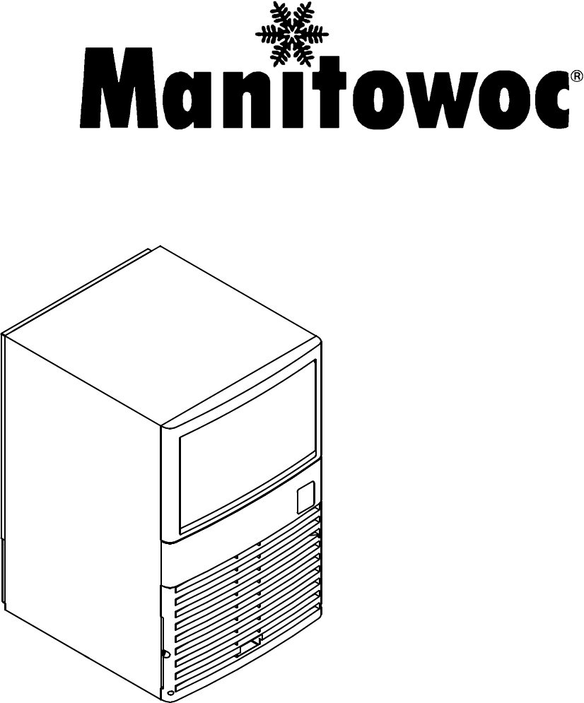 Manitowoc Ice Ice Maker Qm30 Series User Guide Manual Guide