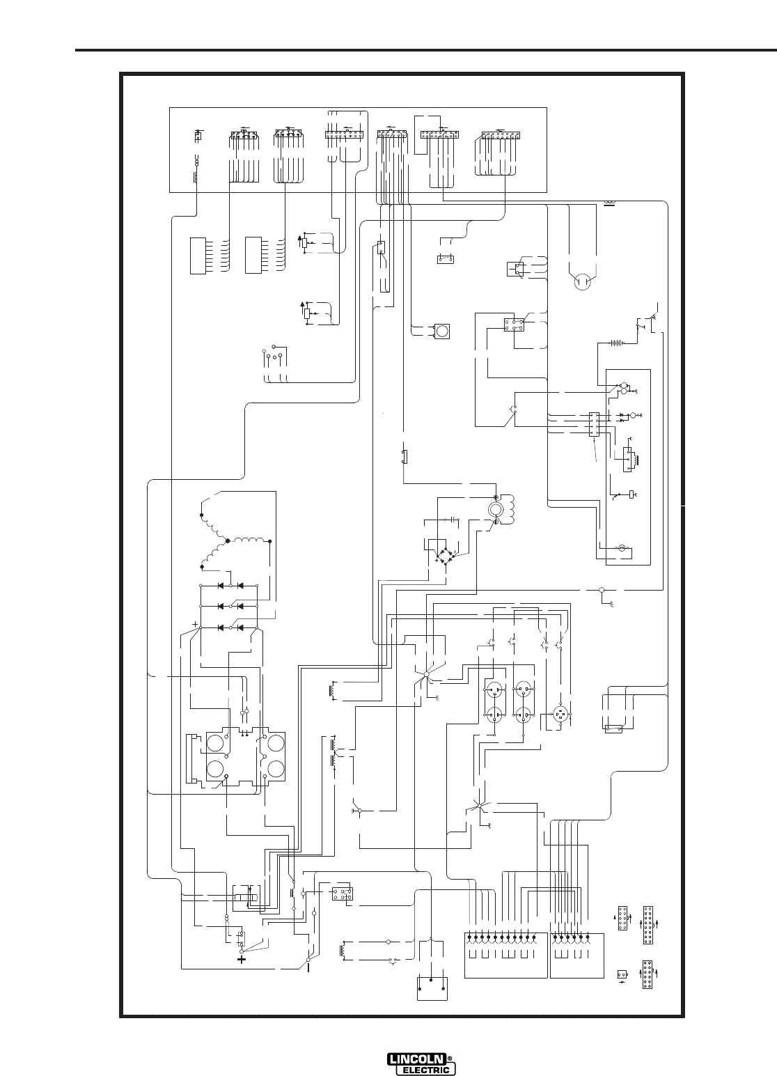 Page 46 of Lincoln Electric Welding System IM742-A User Guide ... Lincoln Arc Welder Wiring Diagram on lincoln 100 mig welder manual, lincoln electric arc welder, lincoln sa-200 parts diagram, welder equipment diagram, lincoln 225 gas welder, welder circuit diagram, lincoln 110 mig welder, lincoln 225 arc welder manual, lincoln 225 welder parts, lincoln 225 stick welder ac dc, lincoln welder engine diagram, lincoln 220 stick welder, lincoln welder schematic, lincoln electric ac 225 s, lincoln 225 arc welder wheels, lincoln tombstone welder, lincoln arc welder ac dc, mig welder diagram, lincoln 225 s wiring diagram, welding diagram,