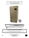 free goodman mfg air conditioner user manuals manualsonline com rh homeappliance manualsonline com goodman air conditioner user manual goodman air conditioning manual