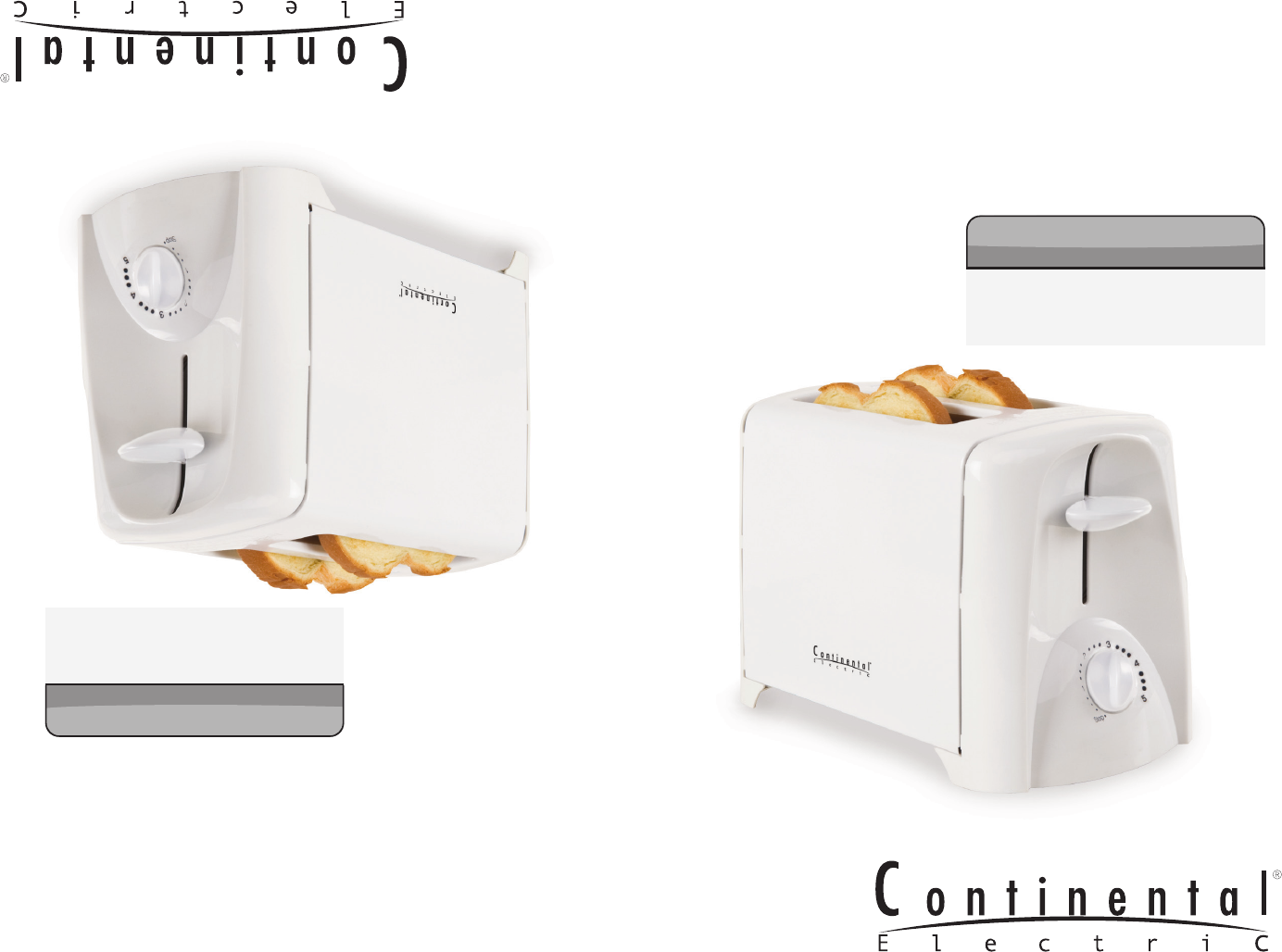 Continental Electric Toaster CE23401 User Guide ManualsOnline.com