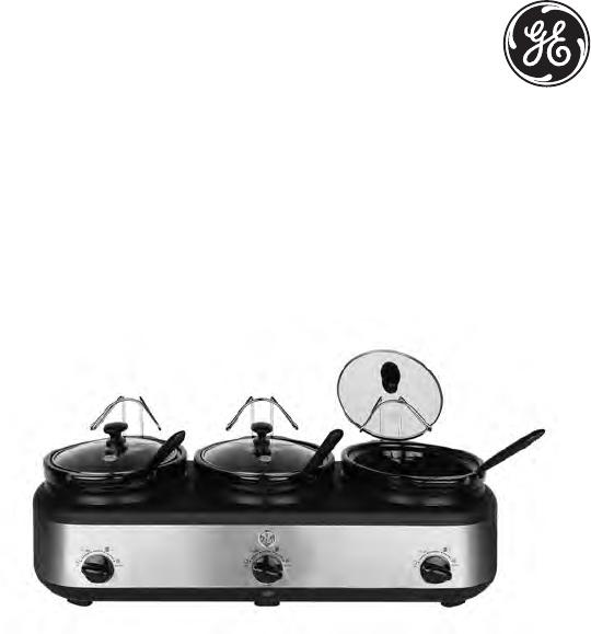 ge 3 crock slow cooker buffet home interior designer today u2022 rh momomomo co 3-Crock Slow Cooker Recipes ge 3 crock slow cooker buffet replacement parts