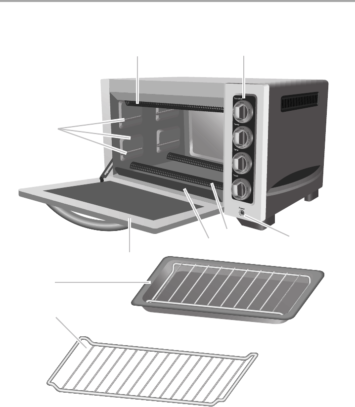 Page 6 of KitchenAid Convection Oven KCO223 User Guide  -> Kitchenaid Oven Manual