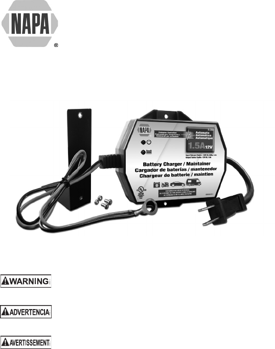 napa essentials battery charger 85 300a user guide manualsonline com 0099001261 01