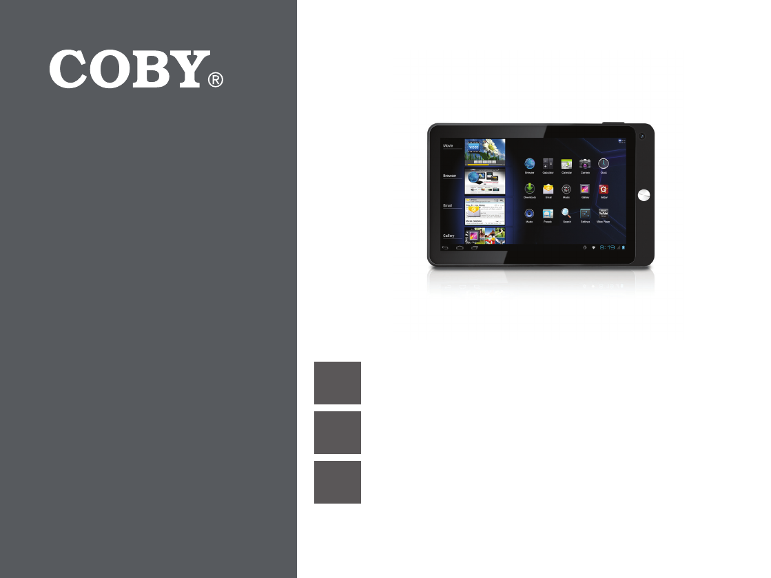 coby electronic tablet mid7042 user guide manualsonline com rh office manualsonline com Coby Kyros Root Coby Kyros Accessories