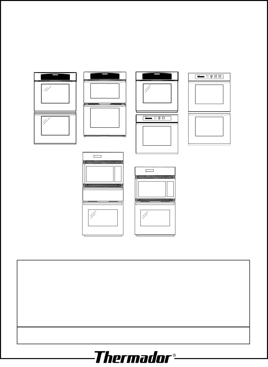 Thermador Cj302 Wiring Diagram And Schematics Oven Manuals Source C301 User Manual