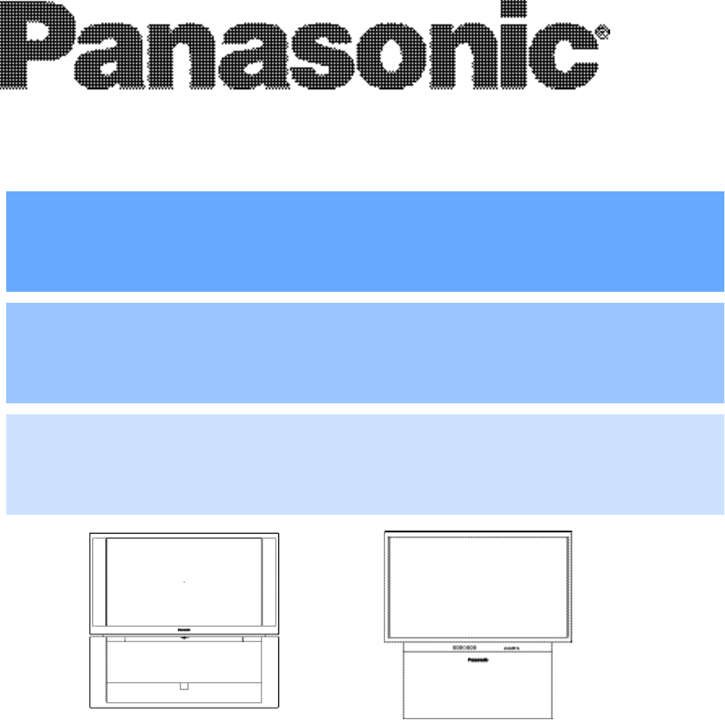 panasonic projection television pt 47wx53 user guide manualsonline com rh tv manualsonline com