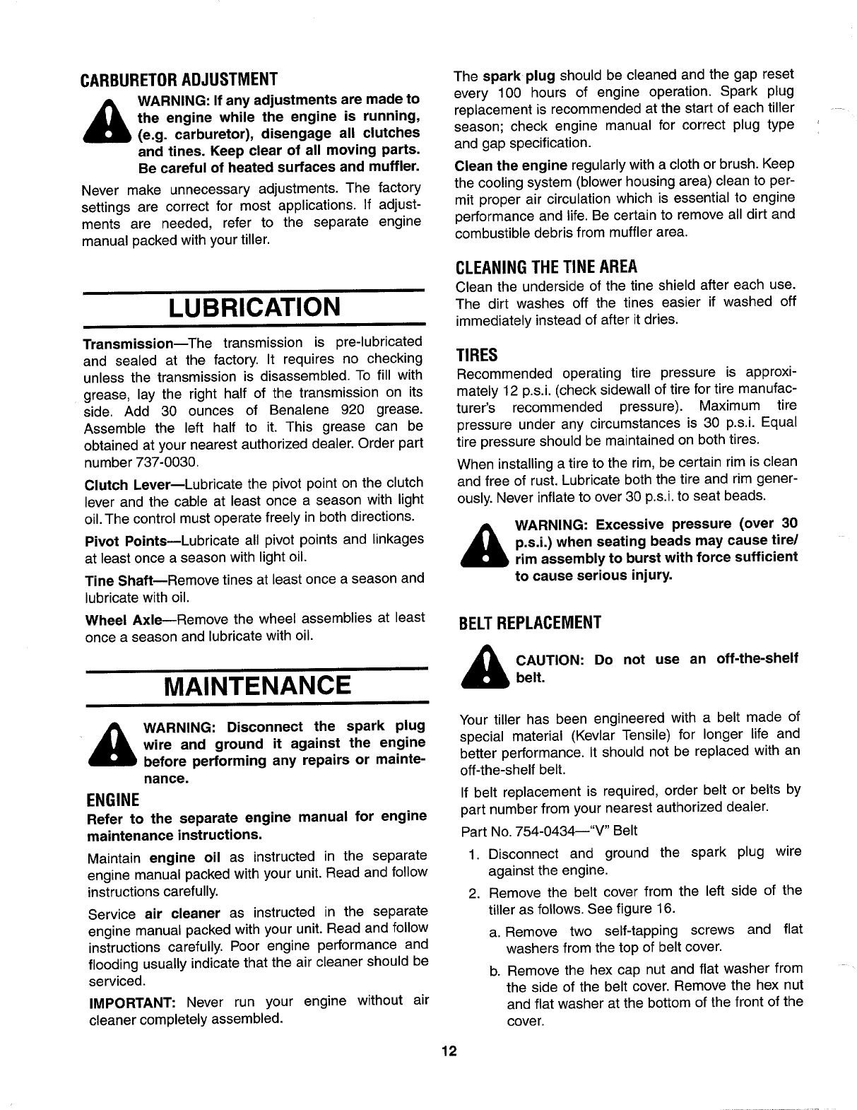 Clutch for user guide user manuals array page 12 of yard man tiller 21a 448 401 user guide manualsonline com rh fandeluxe Gallery