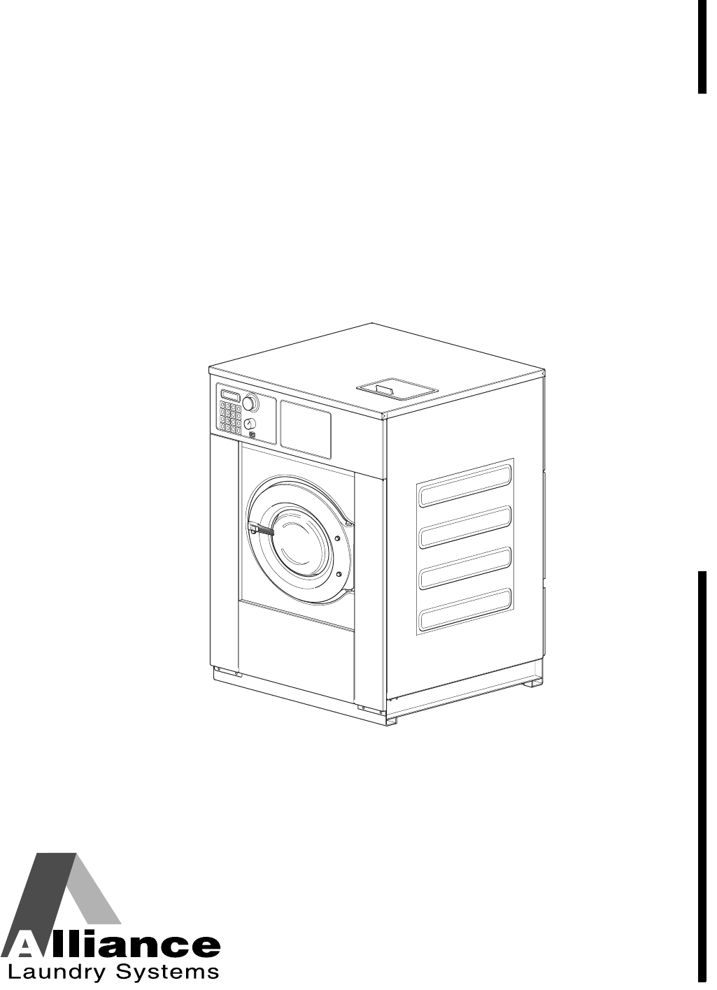 Alliance laundry systems washer dryer cpd6c user guide for Alliance laundry systems
