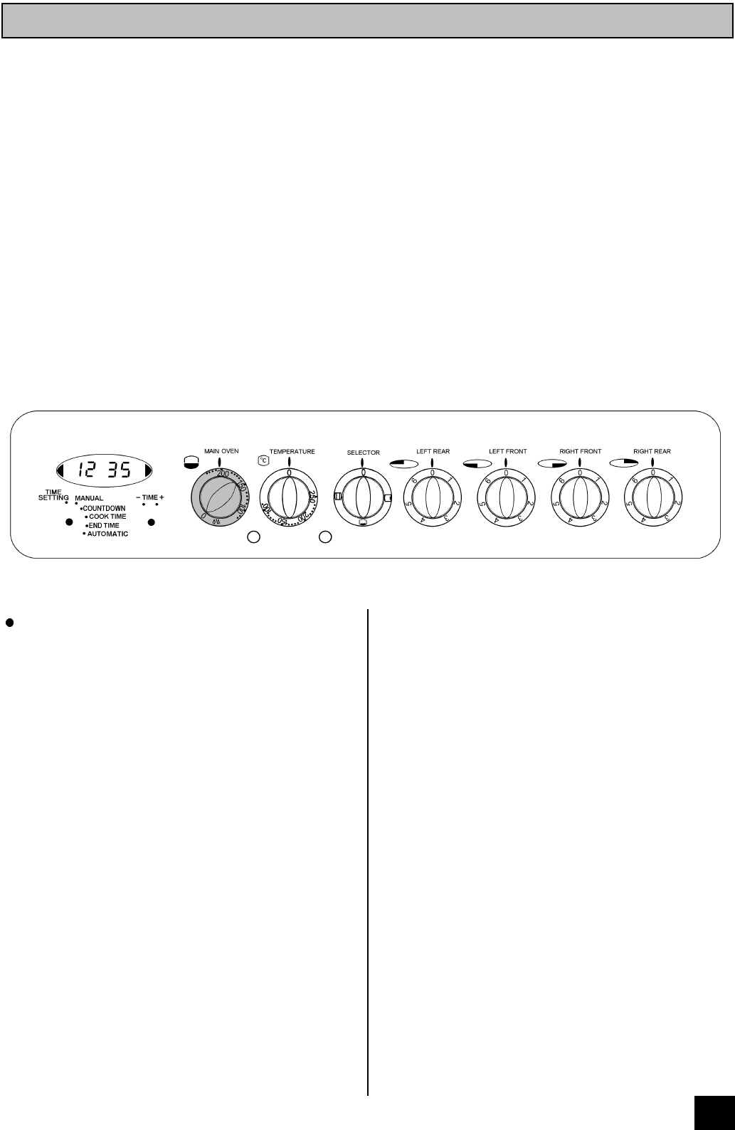 Conventional oven setting symbol best oven 2017 search indesit user manuals biocorpaavc Choice Image