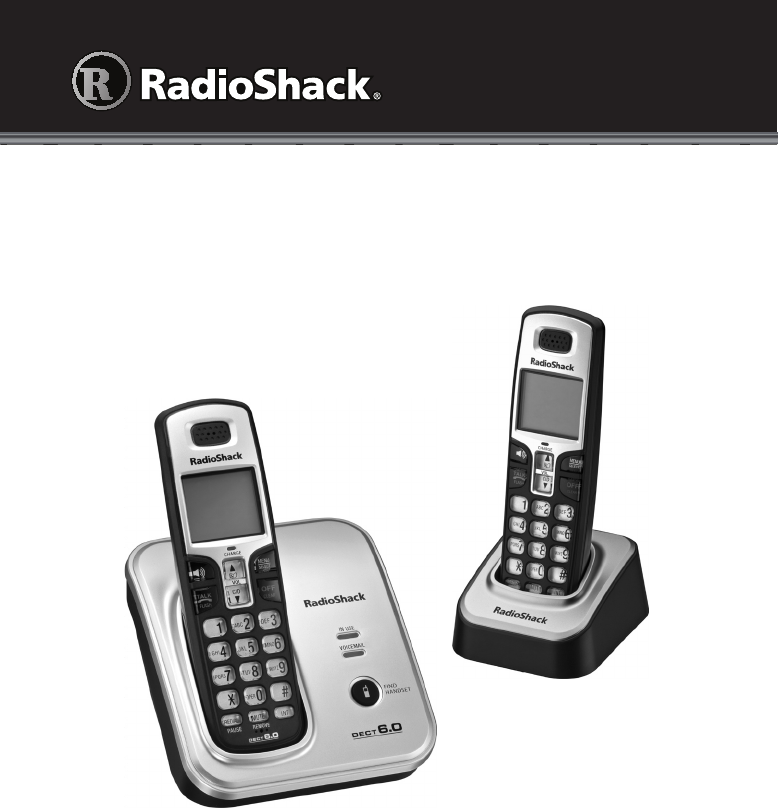 Radio Shack Cordless Telephone 43-326 User Guide | ManualsOnline.com