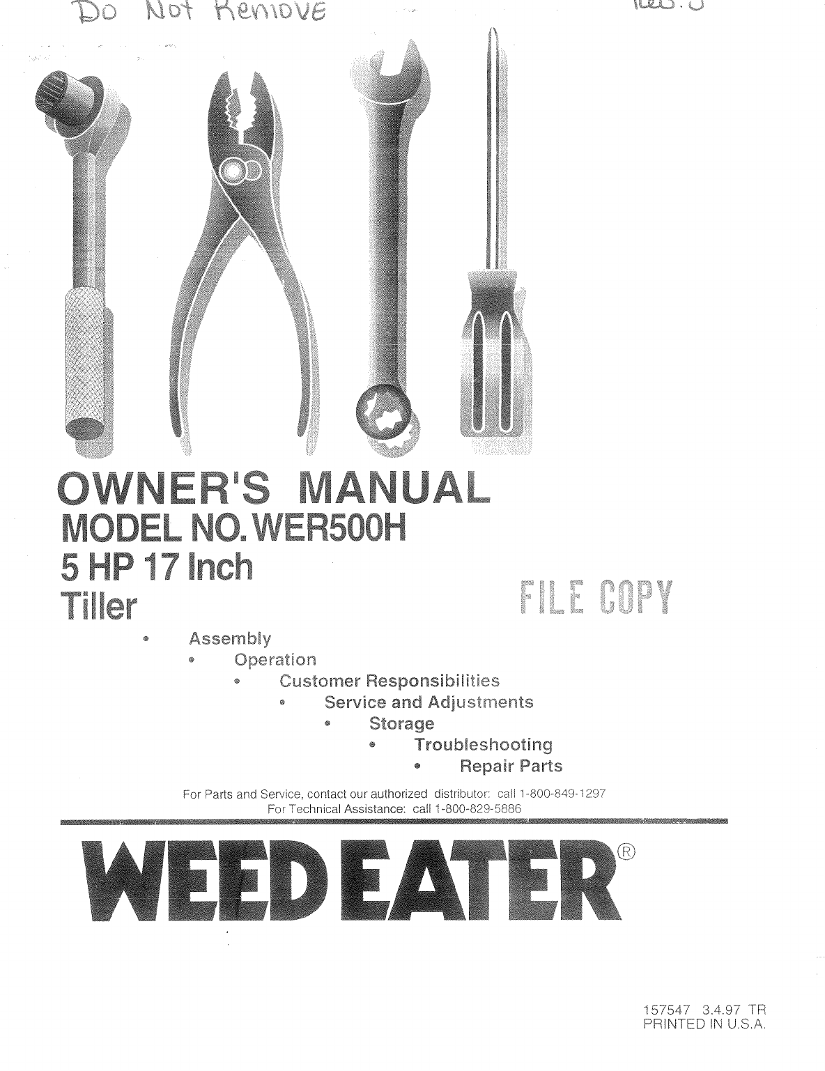 Weed Eater Manual Rte115c Pl200 Parts List And Diagram Type 1 Ereplacementparts Troubleshooting Problems With Starting Eaters Home