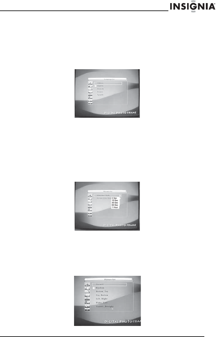 Page 61 of Insignia Digital Photo Frame NS-DPF10A User Guide ...