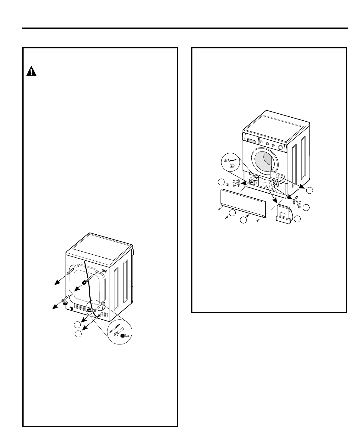 9. Remove the large Styrofoam block located under the