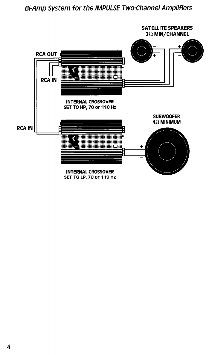 Page 4 Of Kicker Stereo Amplifier 1x1302 User Guide
