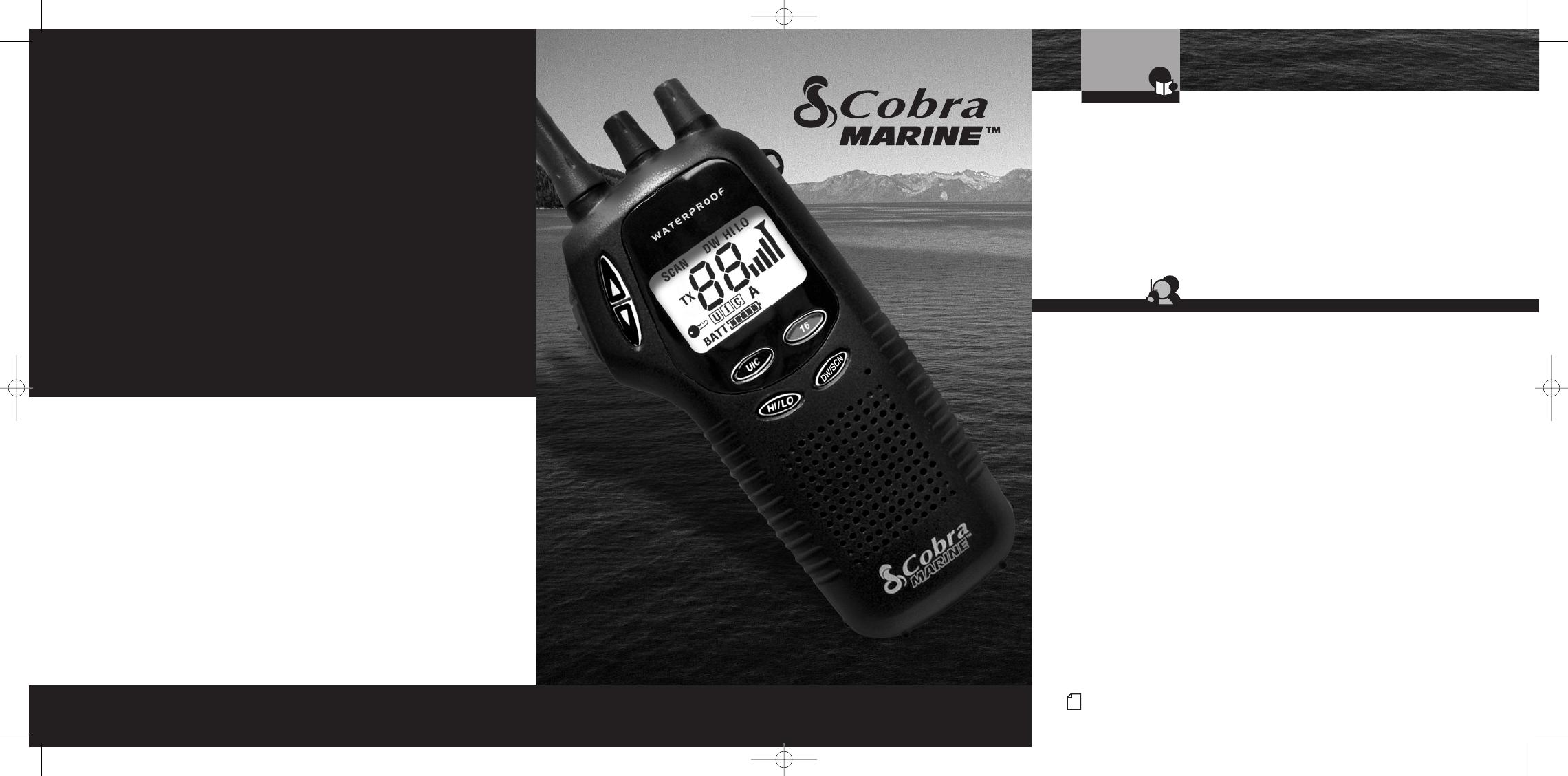 cobra electronics marine radio mr hh300 eu user guide rh marine manualsonline com cobra marine radio hh350 manual cobra marine handheld radio manual