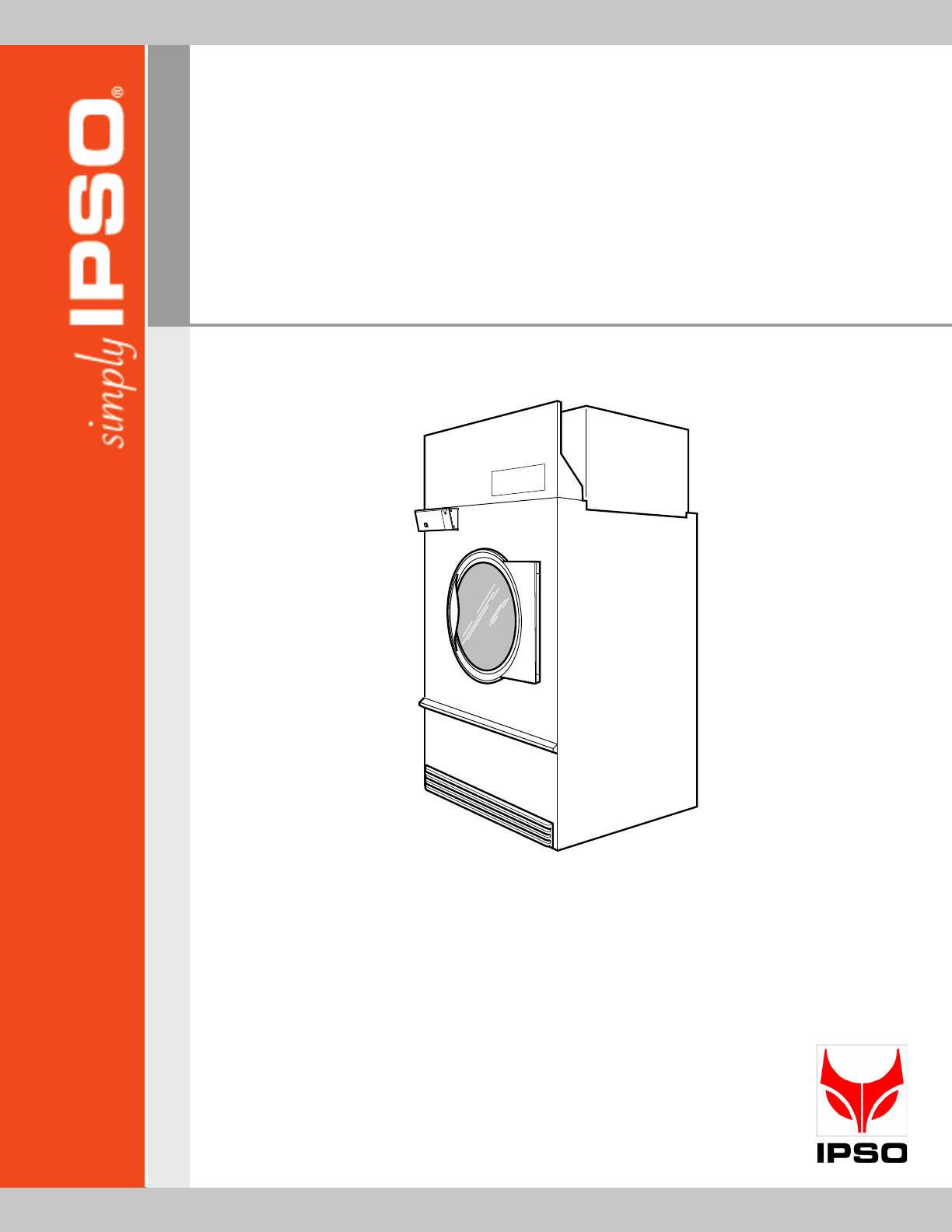 ipso clothes dryer tmb1268c user guide manualsonline com rh laundry manualsonline com Operators Manual ipso cw10 user manual