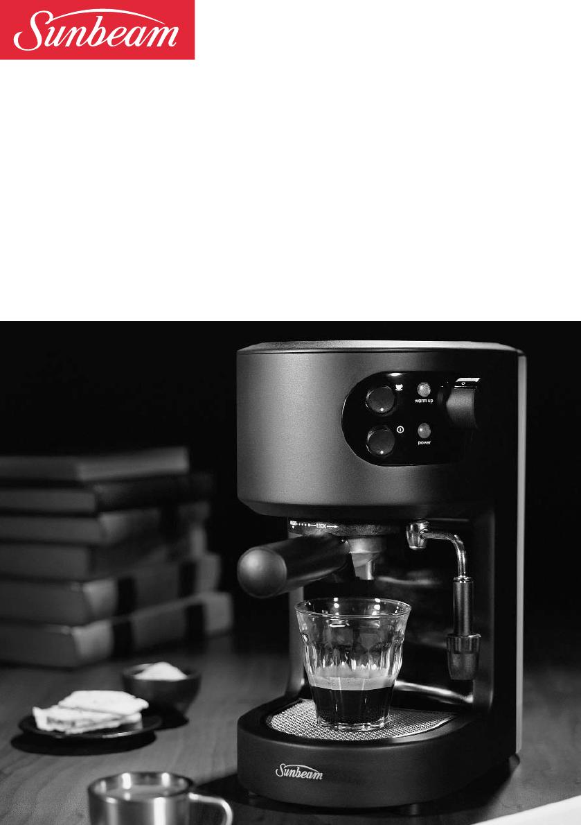 Sunbeam Coffee Maker Instructions : Sunbeam Espresso Maker EM2300 User Guide ManualsOnline.com