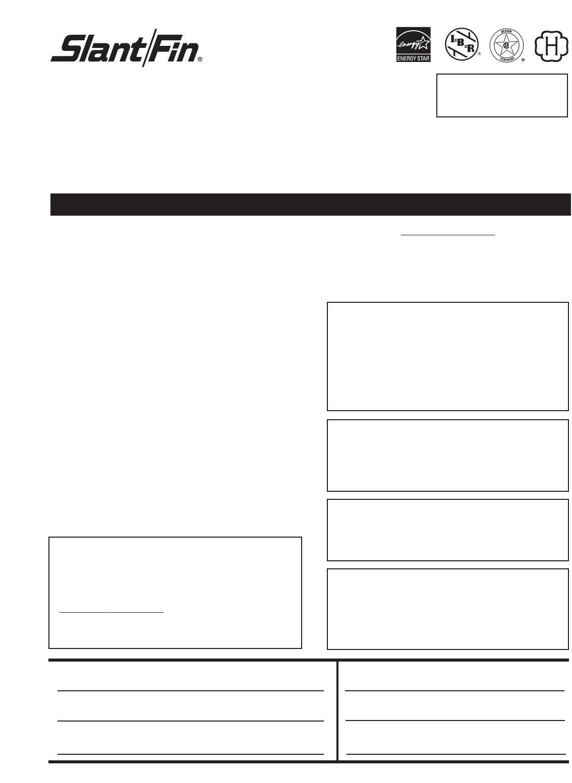 slant fin boiler vsph 60 user guide. Black Bedroom Furniture Sets. Home Design Ideas
