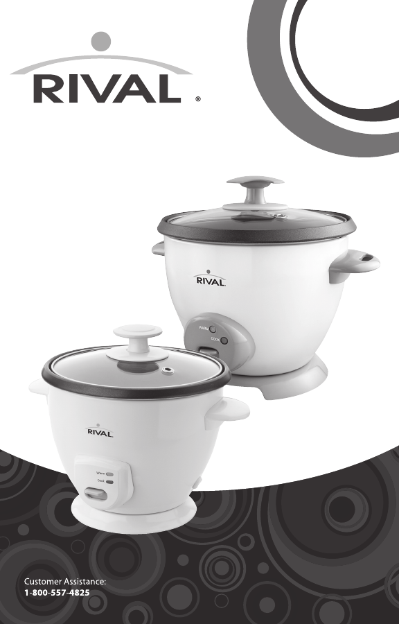 rival rice cooker ckrvrcm061 user guide manualsonline com rh kitchen manualsonline com Small Kitchen Appliance Rival Parts Rival Appliance Replacement Parts