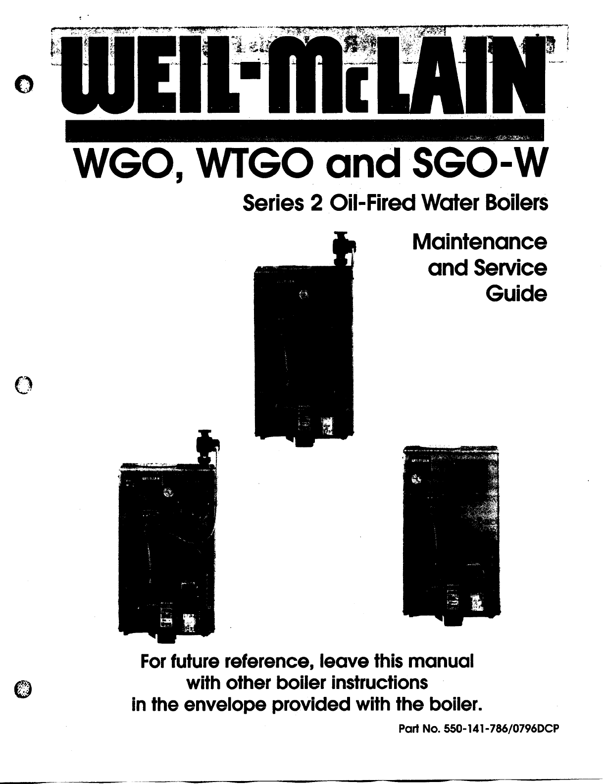 Weil Mclain Boiler Wtgo User Guide Manualsonlinecom Wiring Diagram Next