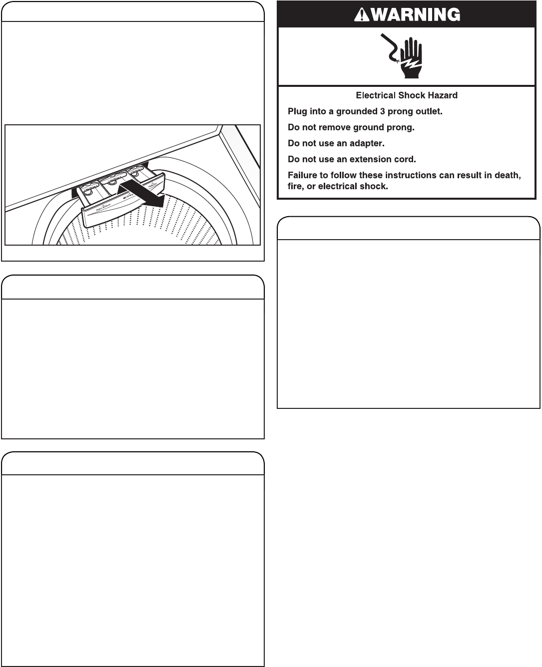 Page 13 of Whirlpool Washer Cabrio User Guide
